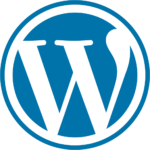 wp logo blue